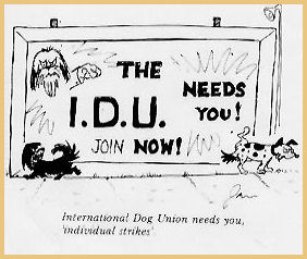 Int Dog Union Drawing