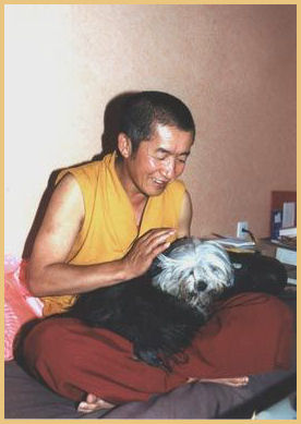 Rimpoche and Tchang Po